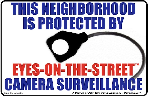 Neighborhood Safety Sign 3